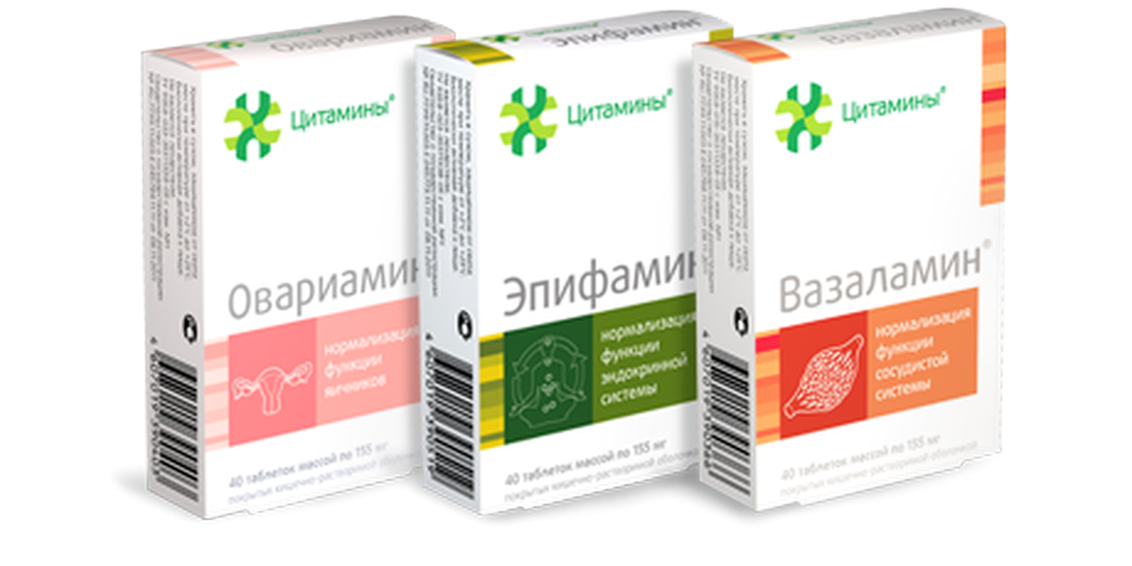 Complex of cytamins for the women's health buy online
