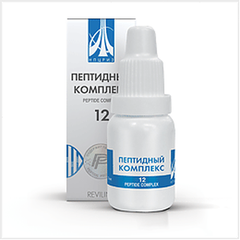 Peptide complex 12 10ml for prevention and treatment of bronchopulmonary diseases