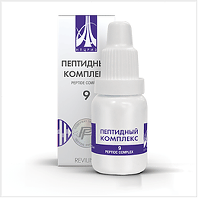 Peptide complex 9 10ml for prevention and treatment of the male reproductive system