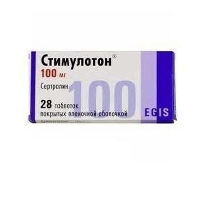 Stimuloton 100mg 28 pills buy drug acting on the central nervous system